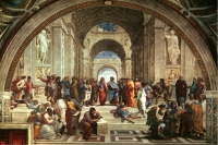 To understand is to look: putting Raphael's 'School of Athens' into words